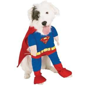 Superman Deluxe Dog Costume Large