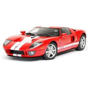 Ford GT Red Diecast Car Model Autoart 112 Toys & Games