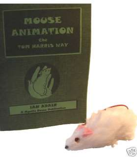 Toy Judy MOUSE ANIMATION Book Magic Trick Clown Puppet