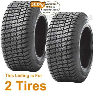 15x6.00 6 15/6.00 6 Riding Lawn Mower Garden Tractor Turf TIRES