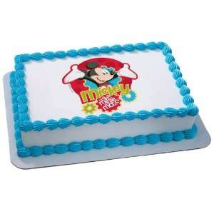Lets Party By Deco Pac Disney Mickey Mouse Clubhouse Tune Edible Icing
